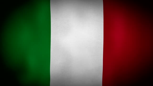 Flag Italy video