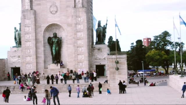 Flag Monument in Rosario, Santa Fe Province, Argentina video