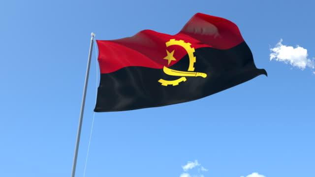 Flag of Angola video