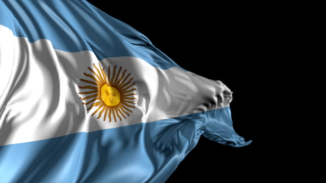 Flag of Argentina video