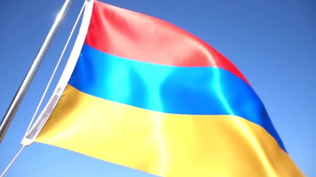 Flag of Armenia video