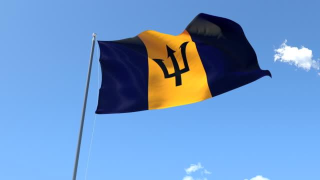 Flag of Barbados video
