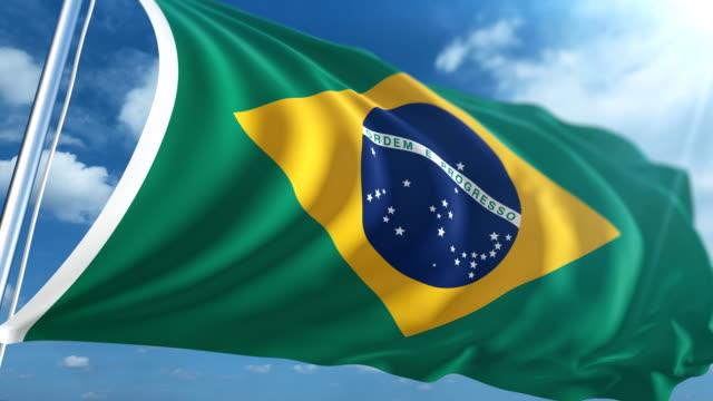 Bandeira do Brasil | Loopable - vídeo