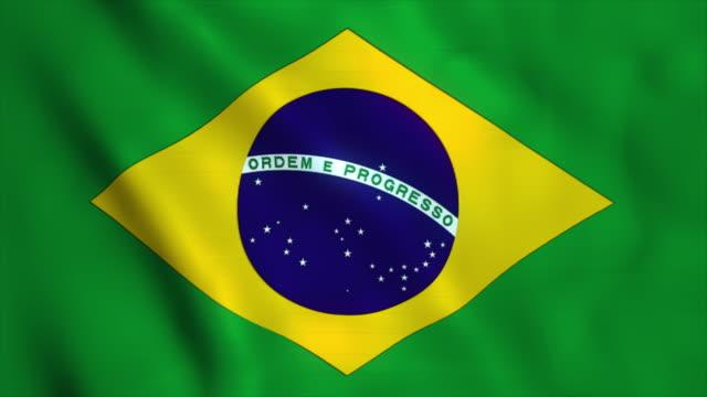 Flag of Brazil video