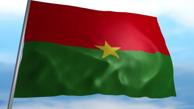 Flagge von Burkina Faso – Video