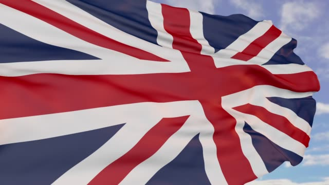 flag of england, logo of the state symbol - england stock videos & royalty-free footage