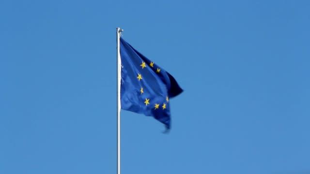 Flag of European Union UE video