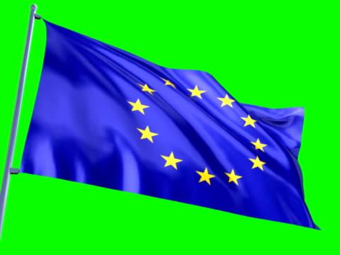 Flag of European Union video