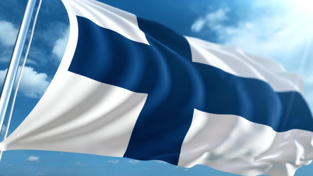 flagga finland | loopable - finland bildbanksvideor och videomaterial från bakom kulisserna