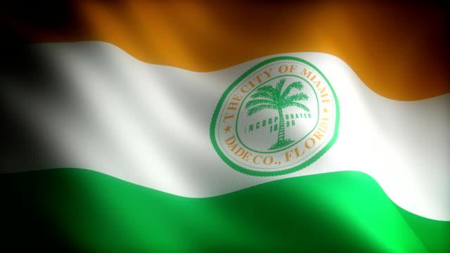 Flag of Florida Miami Flag of Florida Miami (seamless) florida us state stock videos & royalty-free footage