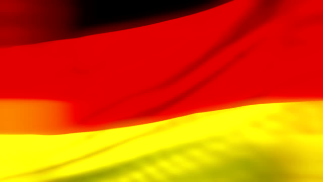 Flag of Germany Loopable Deutsch Flagge Flagge von Deutschland video