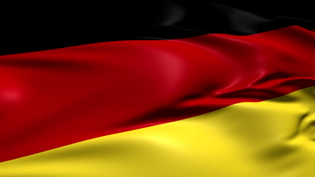 flag of Germany (loop) video