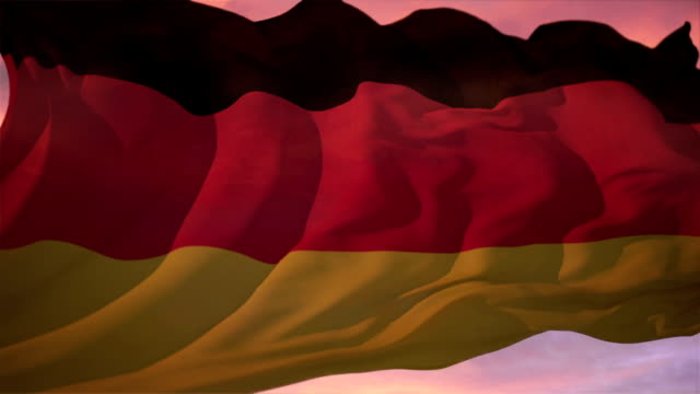 Flag of Germany. video