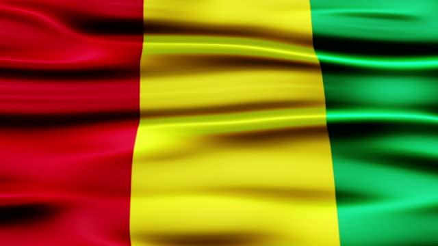 Flag of Guinea video