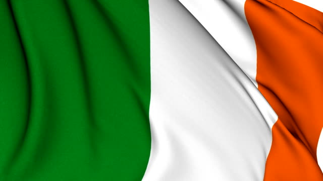 Flag of Ireland video