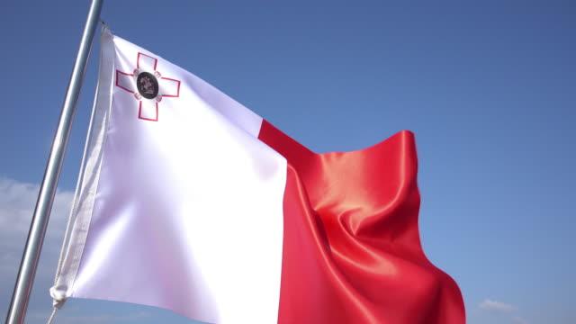 Flag of Malta video