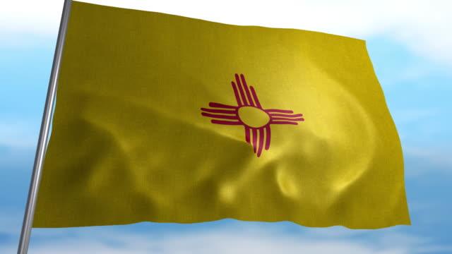 Flagge von New Mexico – Video