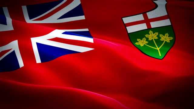Flag of Ontario video waving in wind. Realistic Province Flag background. Canadian Ontario Flag Looping closeup 1080p Full HD 1920X1080 footage. Ontario Ottawa Canada Provinces Province flags/ Other HD flags Flag of Ontario video waving in wind. Realistic Province Flag background. Canadian Ontario Flag Looping closeup 1080p Full HD 1920X1080 footage. Ontario Ottawa Canada Provinces Province flags/ Other HD flags ontario canada stock videos & royalty-free footage