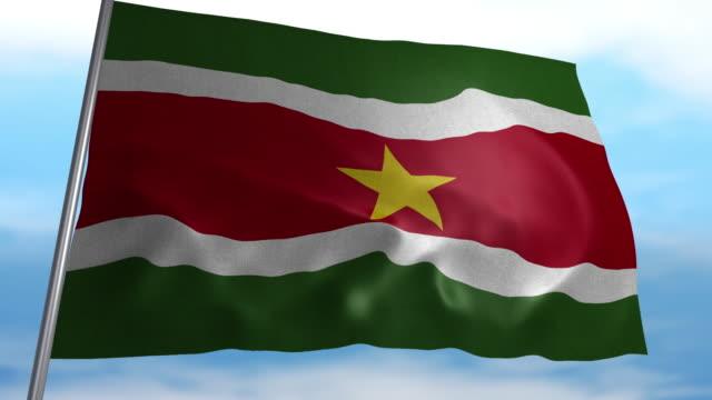 Flagge von Suriname – Video