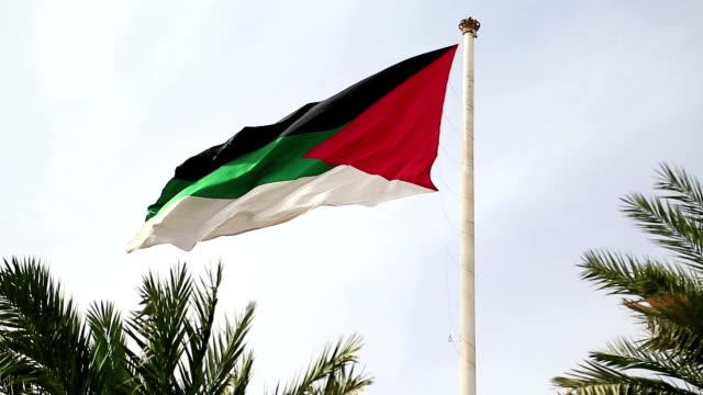 Flag of the Arab Revolt, Aqaba, Jordan video