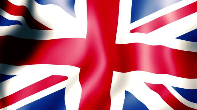Flag of the United Kingdom video