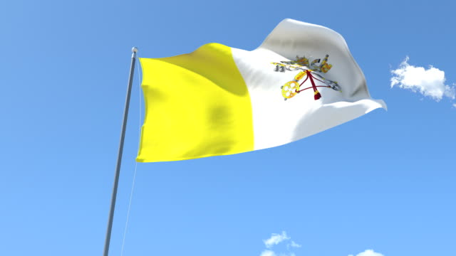 Flag of Vatican video