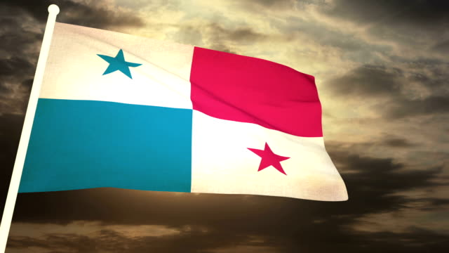 Flag Panama video