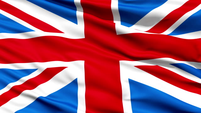 Flag United Kingdom Of Great Britain video