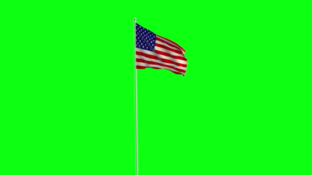 flag - american flag stock videos & royalty-free footage