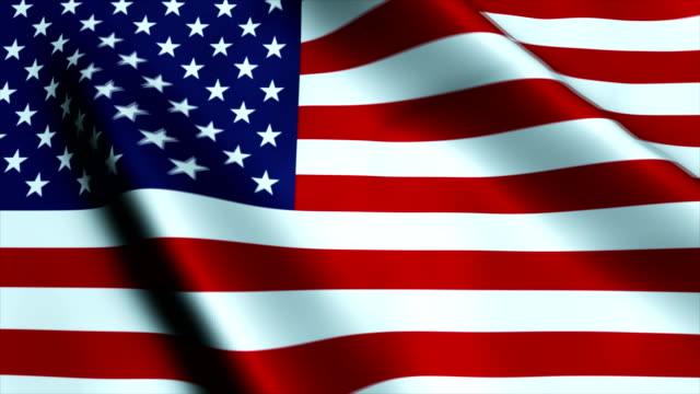米国の旗を振るで風 - 民主主義点の映像素材/bロール