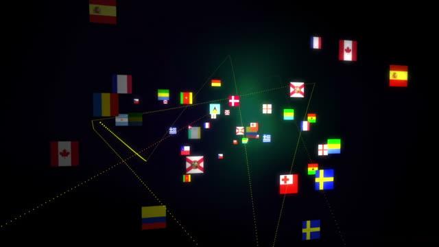 flags network - chain studio bildbanksvideor och videomaterial från bakom kulisserna