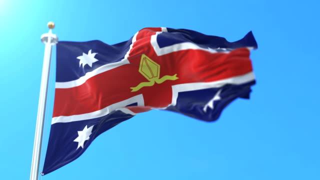 flags of australia - papa video stock e b–roll