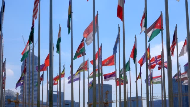 flags of the world video