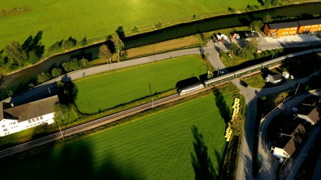 Flam Line (Norwegian Flamsbana) is a long railway line between Myrdal and Flam in Aurland, Norway.