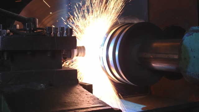 Flame spray metallization process video