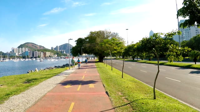 Flamengo Park in Rio de Janeiro video