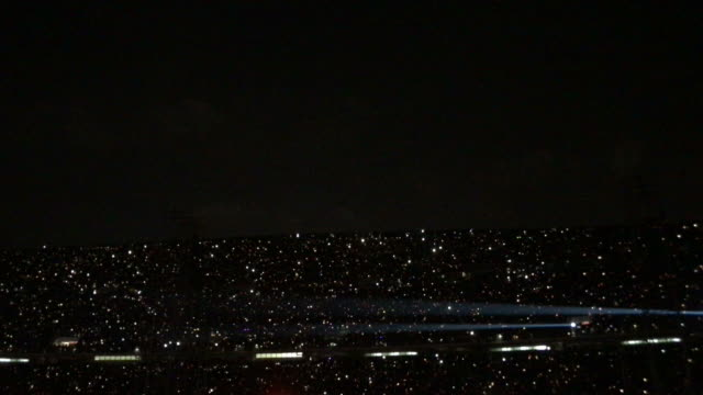 flash light wave in concert - vídeo