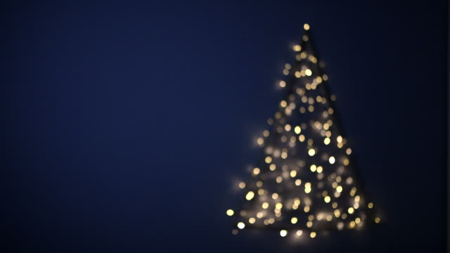 flashing blurred christmas tree, germany - christmas decoration стоковые видео и кадры b-roll