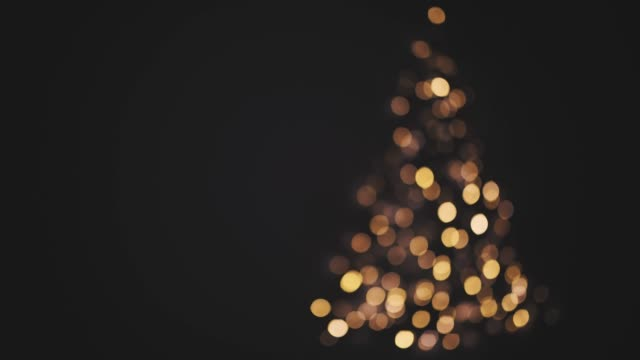 flashing blurred christmas tree, germany - christmas lights стоковые видео и кадры b-roll