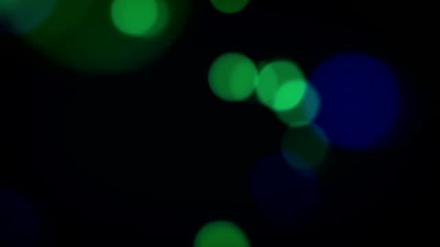 Flashing Defocused Lights Animation, NTSC & PAL Background Loop video