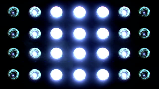 Flashing Floodlights Blue Flashing Floodlights Blue floodlight stock videos & royalty-free footage
