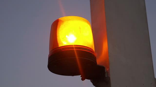 Flashing siren light in slow motion 180fps Flashing siren light in slow motion 180fps environmental consciousness stock videos & royalty-free footage
