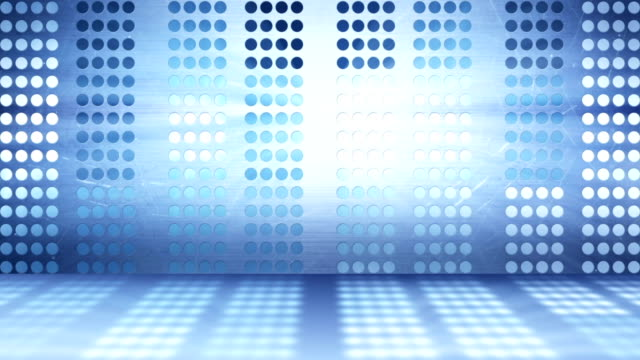 flashing stage lights abstract background video