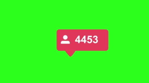 Flat design like 4K social media follower counter, shows clicks over time on a green background Flat design like 4K social media follower counter, shows clicks over time on a green background . High quality 4k footage following moving activity stock videos & royalty-free footage