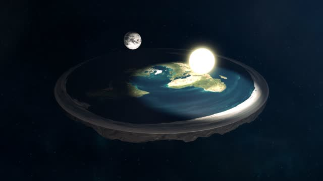 Flat Earth Conspiracy Sun and Moon Model video