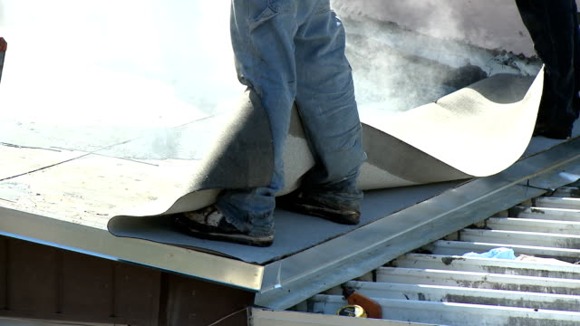 HD: Flat roof installation - Part One video
