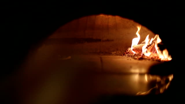 Flatbread cooked in the oven video