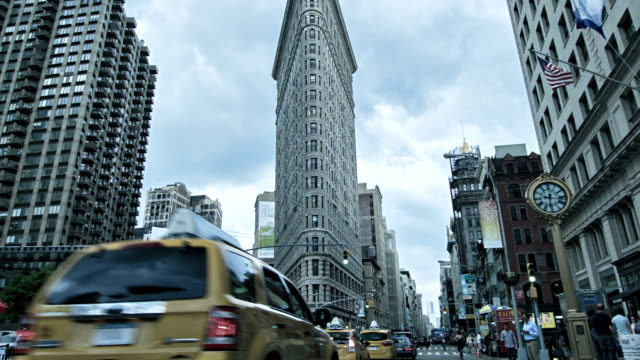 Flatiron Building, Manhattan, New York, USA video
