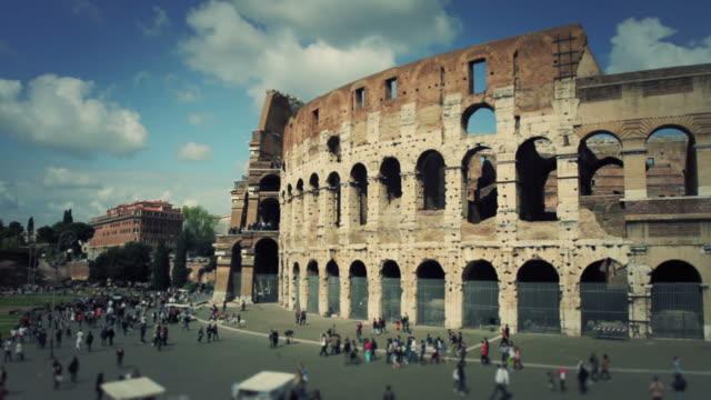 Flavian Amphitheater Coliseum of Rome HD Video video