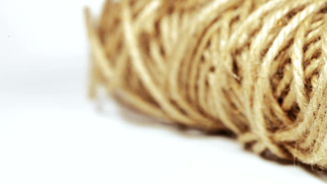 Flax hemp rope video